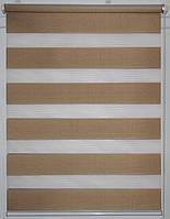 Готовые рулонные шторы Ткань ВН-2562-13 Золото 425*1600