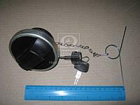 Крышка бака топливного SCANIA (пластик с металлическая ободом) 60мм. (с ключем и цепью) (Rider). RD19-65-237
