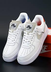 Женские кроссовки Nike Air Force 1 Low White (Найк Аир Форс 1)