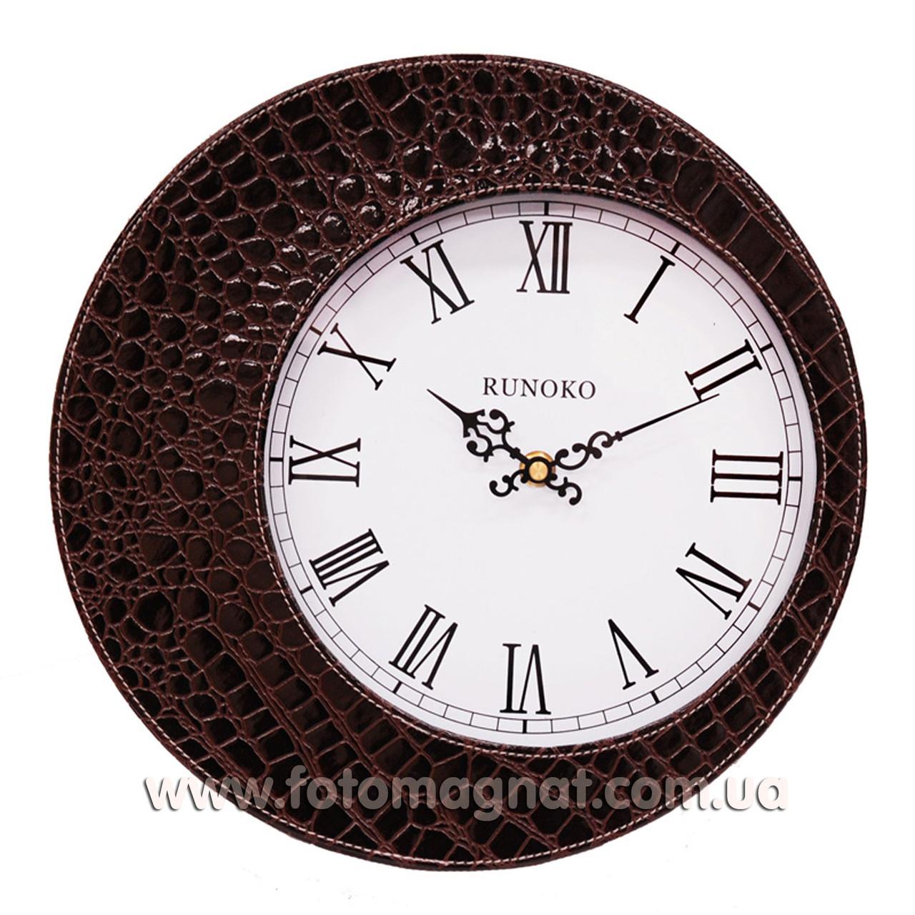 """Часы для интерьера, настенные """"Коричневые"""" 30см."""