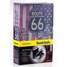 Книга-сейф Америка/трасса 66, 18х11,5х5,5 см. средняя