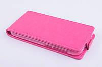 Чехол флип для Huawei Honor 3C Lite розовый