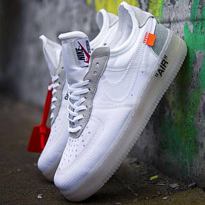 Мужские кроссовки OFF-White x Nike Air Force 1 Low (3 ЦВЕТА)