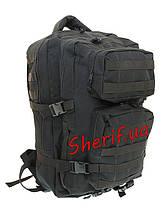 Рюкзак черный тактический 36 литров  5839