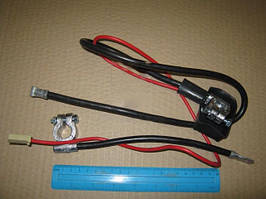 Провод АКБ ВАЗ-2107 (свинец) 10 мм.кв (Украина). 15507