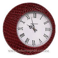 """Часы для интерьера, настенные """"Красные"""" 30см."""