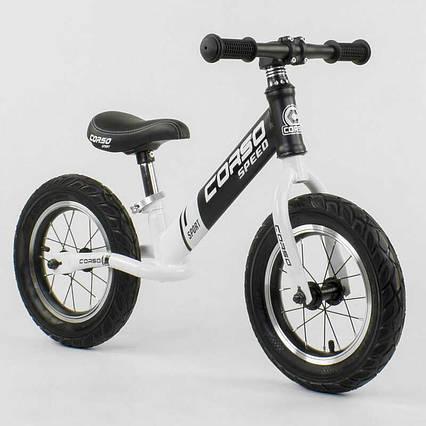 """Велобег """"CORSO"""" 10234 (1) стальная рама, колесо 12"""", надувные колёса"""