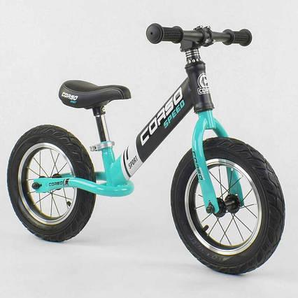 """Велобег """"CORSO"""" 88671 (1) стальная рама, колесо 12"""", надувные колёса"""