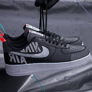 Мужские кроссовки Nike Air Force 1 Low '07 LV8 Utility Black/Grey