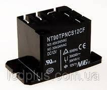Реле 12 Вольт 40 Ампер NT90TP-NCE-DC12V-CB-0.9