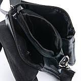 Мужская сумка Планшет Dr.Bond 15 x 19 x 5см Черный (db316-0), фото 4