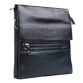 Мужская сумка Планшет Dr.Bond 19 x 23 x 5см Черный (db317-2), фото 2