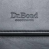 Чоловіча сумка Планшет Dr.Bond 21 x 25 x 5см Чорний (db319-3), фото 2