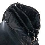 Чоловіча сумка Планшет Dr.Bond 21 x 25 x 5см Чорний (db319-3), фото 4