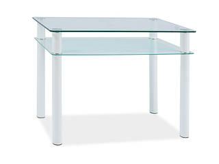 Стол стеклянный Sono 100x60