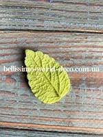Молд лист Мелиссы реалистичный, 3,8смх2,5см