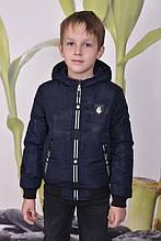 Демисезонная куртка на манжете для мальчиков