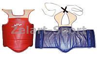 Защита груди и ключицы (жилет) двухстор. PVC WTF BO-0030-5 (р-р 0, крепление на ремнях)