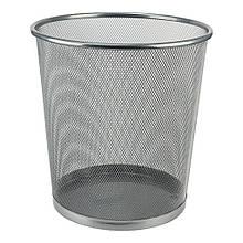 Корзина для бумаг Axent Wire mesh, silver 260x280мм (2119-03-A)