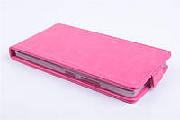 Чехол флип для Lenovo A7000 розовый