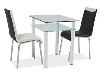 Стеклянный стол Sono 80x60