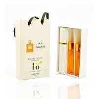Мини парфюм Chanel № 5 (Шанель № 5) с ферамонами + 2 запаски, 3*15 мл.