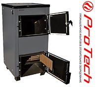 Дровяной котёл Protech TTП-12 c плитой и чугунными колосниками