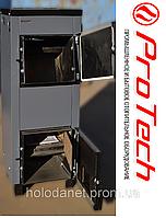 Котёл на дровах Protech TTП-18 Lux c плитой и охлаждаемыми колосниками