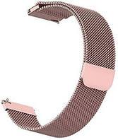 Ремешок BeWatch Миланская петля шириной 20 мм для Xiaomi Amazfit BIP Pink (1010211), фото 1