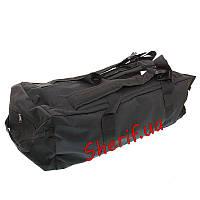 Сумка рюкзак  Украина черная 70 литров ткань Оксфорд
