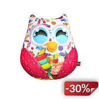 Мягкая игрушка-антистресс Dankotoys Сова с конфетами (35006)