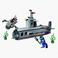 """Детский конструктор """"Подводная лодка"""" Brick 816. 382 дет."""