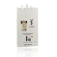 Мини парфюм Yves Saint Laurent L`Homme (Эль Хом) с ферамонами 3*15 мл.