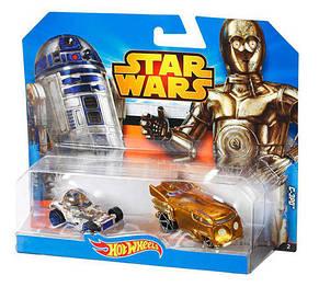 "Набор из 2-х машинок-героев серии ""Star Wars"" Hot Wheels , фото 2"