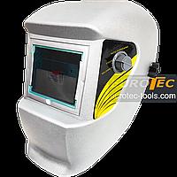 Маска зварщика хамелеон REON LY500, 3/10000 с, DIN9-13, зварювальна маска зі світлофільтром, зварювальний, фото 1