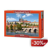 Пазлы Castorland Прага Чехия 1000 элементов (TOY-22931)
