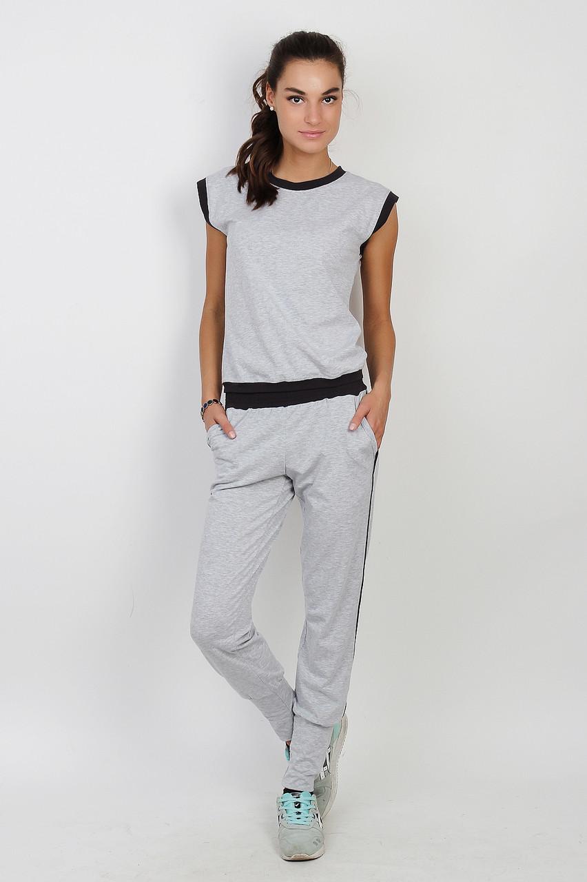 Жіноча піжама сірого кольору 0111/112 42-44(S)