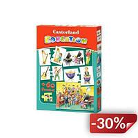 Пазлы Castorland Education Музыкальные инструменты 60 элементов (TOY-53052)