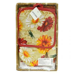 Кухонный набор в корзине Вдохновение 3 предмета OSELYA UKRAINE 71-72-018