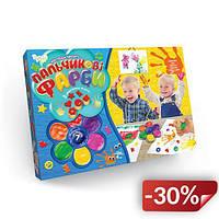 Пальчиковые краски Danko Toys Мое первое творчество 7 Цветов Разноцветный (6819DT)