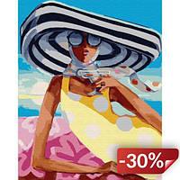 Картина по номерам Brushme Коктейль на пляже 40х50 см (GX29730)