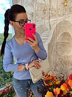 Кофточка украшенная сияющей аппликацией из страз, фото 1