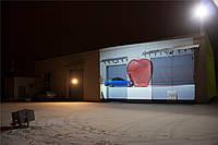 Двухламповый проектор для проекционной рекламы ОМР-4.5 (1280x768) б/у