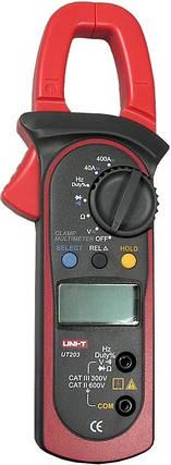 Токоизмерительные клещи Unit  UT 203 опт/розница. Доставка по Украине., фото 2