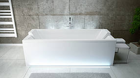 Акриловая ванна QUADRO 155x70 Besco PMD Piramida