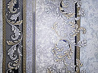 Обои 3673-03 виниловые на флизелиновой основе ширина 1.06,в рулоне 5 полос по 3 метра., фото 1