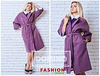Женское пальто из кашемира. Три цвета, фото 1