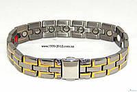 Титановый магнитный браслет «Winner» 3 in 1, фото 1