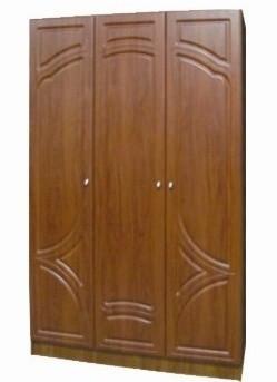 Шафа Мелодія 3х дверний без дзеркала (МДФ)