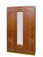 Шкаф Мелодия 3-х дверный с зеркалом (МДФ)